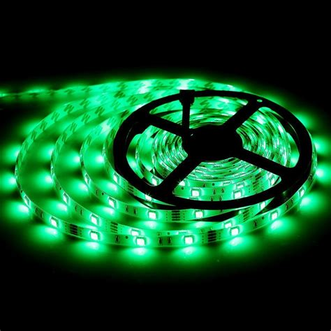 Led Rgb Light Strips Bmouo 2 Reels 12v 32 8ft Waterproof Rgb Led Light Kit Multi Colored Smd5050 300