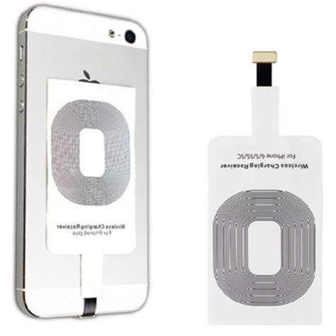 Qi Wireless Charging Lightning Receiver Iphone 55sse5c6 Charger qi wireless charging lightning receiver for iphone 5 5s se