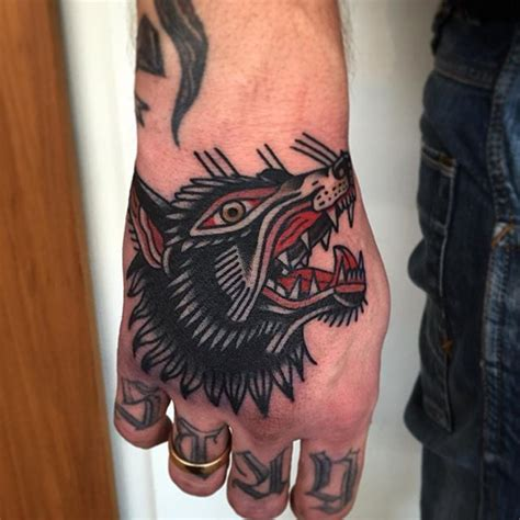 25 best ideas about wolf tattoo traditional on pinterest