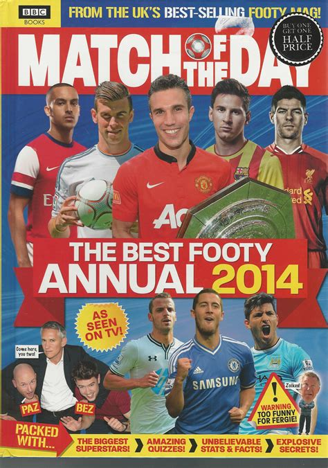 match incredible stats and 1509825002 match of the day the best footy annual 2014 with the biggest superstars amazing quizzes stats
