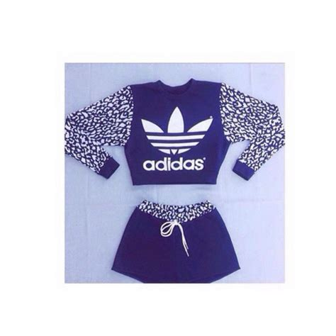 Crop Hoodie Jumper Jaket Nevy shoes blue and white adidas crop tops cropped hoodie