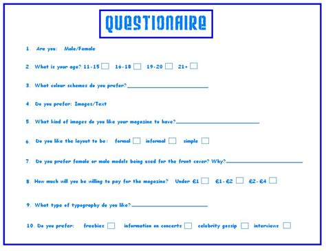Create A Questionnaire - how to make a survey driverlayer search engine