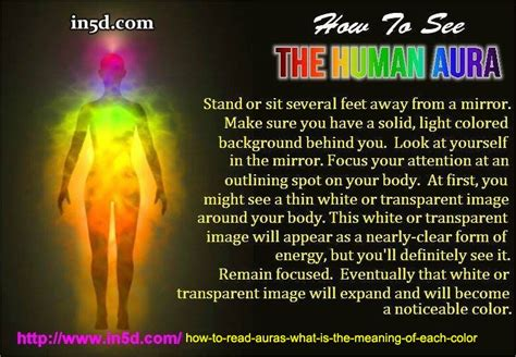 what each color means how to read auras what is the meaning of each color