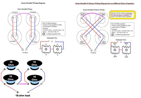 speaker cabinet wiring diagrams home audio systems