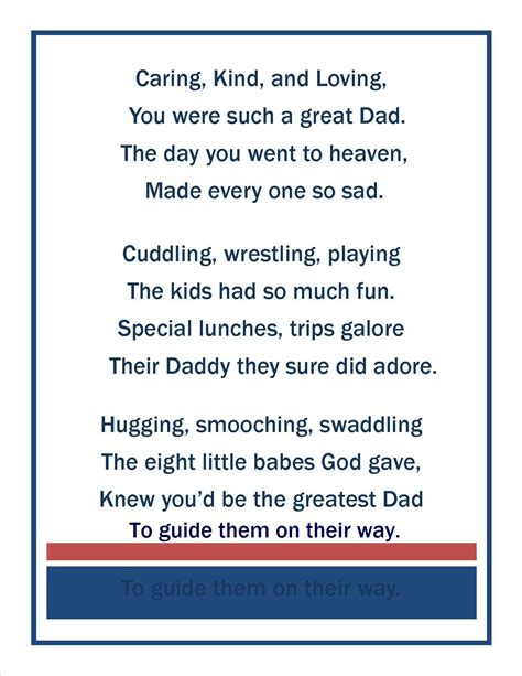 fathers day poems to my husband happy s day in heaven writing by candlelight
