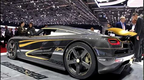 gold koenigsegg koenigsegg agera s hundra with 24 carate gold at geneva