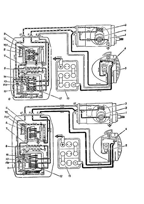 Ural Motorrad Schaltplan by Tipps
