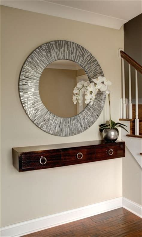 entryway mirror ideas foyer remodel contemporary entry chicago by