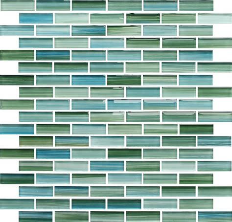 green blue glass subway tile rip curl green and blue hand painted glass subway mosaic