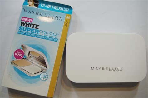 Maybelline White Superfresh Liquid Powder cover liquid powder makeup review style by modernstork