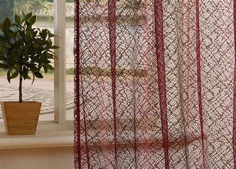 vorhänge netzoptik gardine netzvorhang mit 214 sen einfarbig transparent
