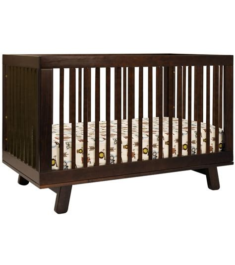 Babyletto Hudson 3 In 1 Convertible Crib With Toddler Bed Convertible Crib Espresso
