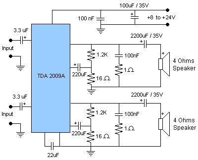 An17823a Btl 4w Mono Power Lifier audio lifier circuit page 16 audio circuits next gr