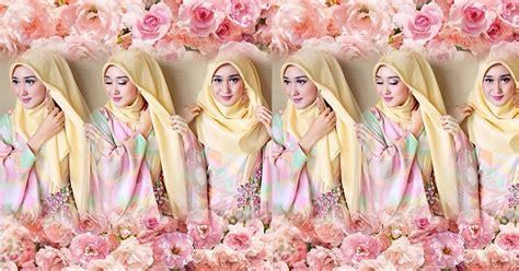 foto tutorial hijab ala dian pelangi yuk coba tutorial hijab formal ala dian pelangi okezone