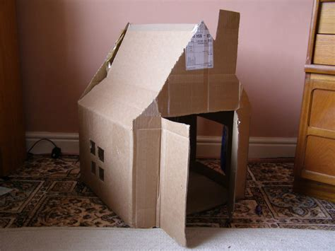 Create With Your Hands Creativity With Cardboard Boxes House