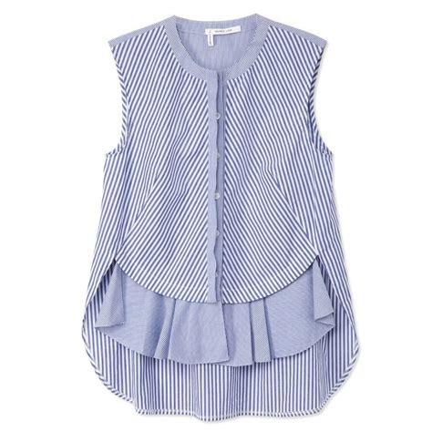 Hem Ruffle Stripe Atasan Baju Wanita 1000 images about sewingness on sewing patterns sewing and dart manipulation