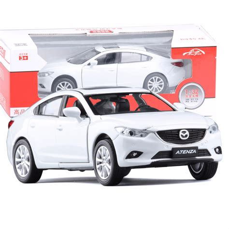 mazda car new model new mazda 6 atenza 1 32 original car model kids toy