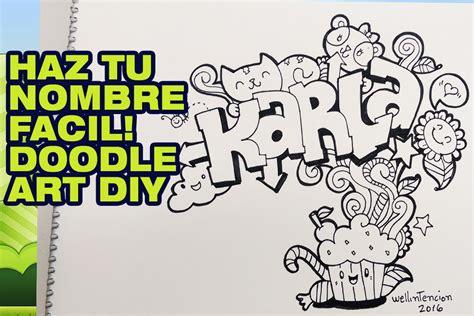 el doodle de hoy en como hacer tu nombre en graffiti doodle karla