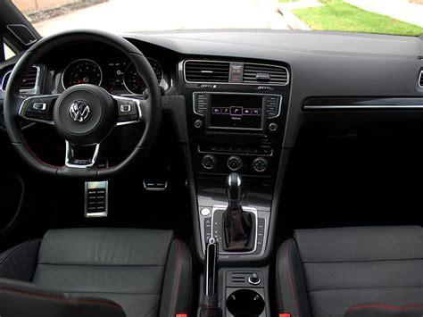 volkswagen cer inside 2017 volkswagen golf gti road test and review autobytel com