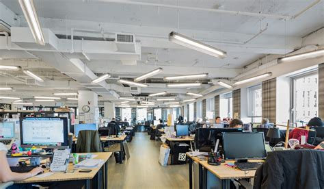 Office Design Planning Area wework s new space at 25 broadway spector group