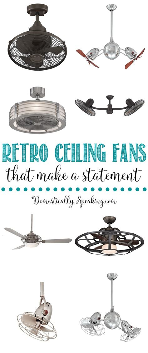 statement ceiling fans the 25 best retro ceiling fans ideas on pinterest