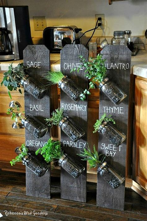 diy herb garden planter wonderful diy hanging herb garden for kitchen