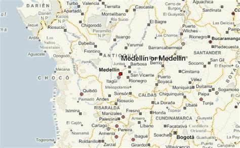 medellin map medell 237 n location guide