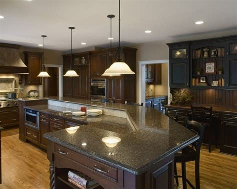2 level kitchen island two level kitchen island design for the home