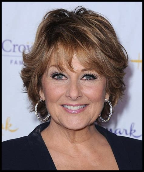 Layered Cut For Women Over 55 | image gallery hairstyles for women over 55