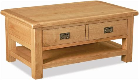 global home salisbury oak coffee table with drawer and