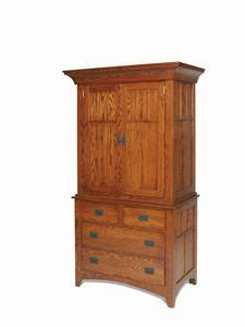 Armoires Craftsman Style And Craftsman On Pinterest Mission Style Cherry Armoire Craftsman