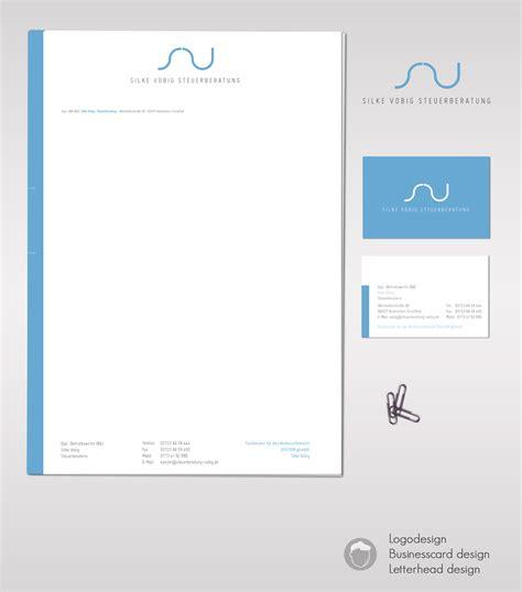 tax consultant business card logo design stationary business card design