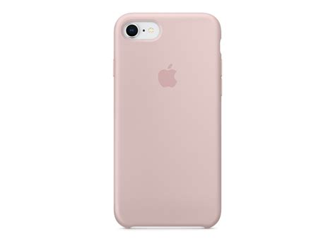 funda silicone para iphone 8 y 7 rosa arena de apple k tuin