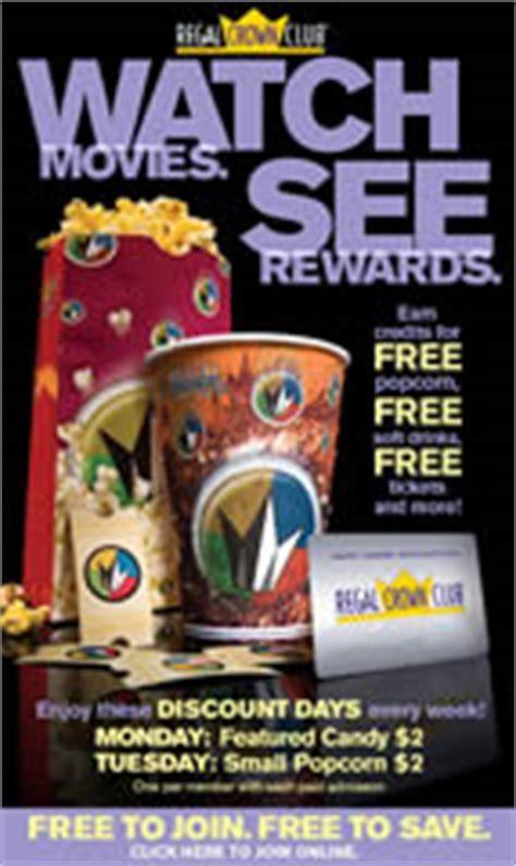 Regal Cinemas Gift Card Kroger - 25 free regal crown club credits i crave freebies