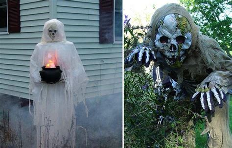 scary yard decorations ghastly ideas to decorate your yard this