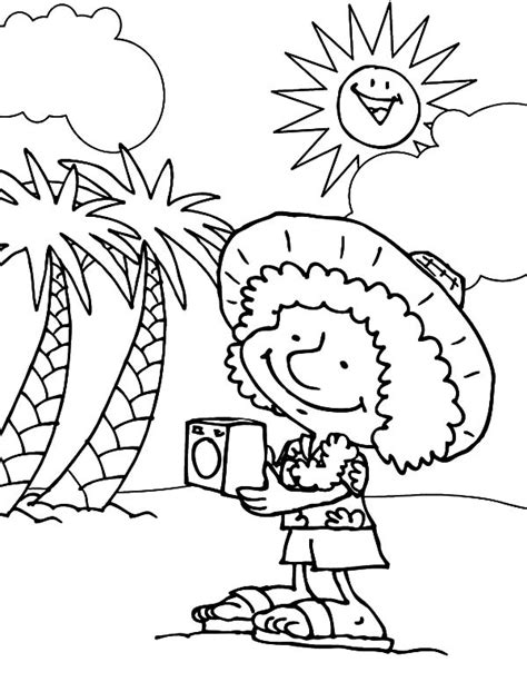 hawaiian boy pages coloring pages hawaii coloring pages photo 753514 gianfreda net