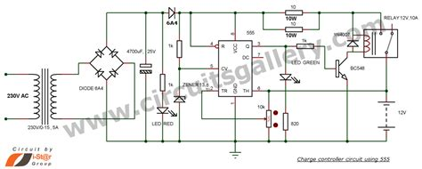 12v battery charger with auto cut circuit diagram 12v battery charger circuit with auto cut