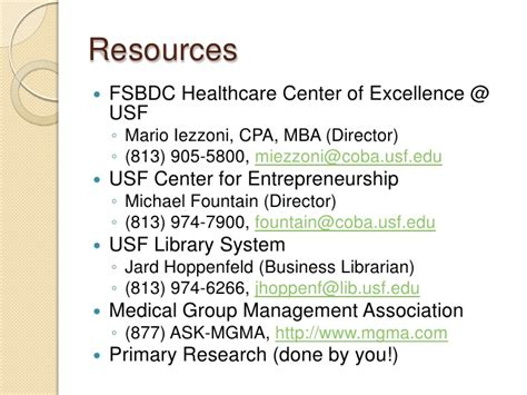 Usf Mba Focus by Does The World Need Another Start Up Physician Practice