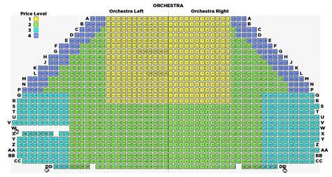 tulsa pac seating diagram chapman choregus productions