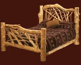 Log Bed Frames 17 Best Images About Cedar Bed Frames On Log
