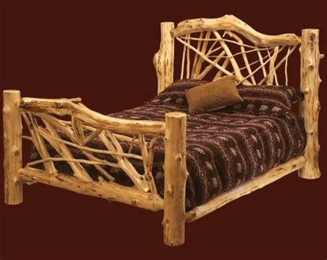 log bed frames 17 best images about cedar bed frames on pinterest log