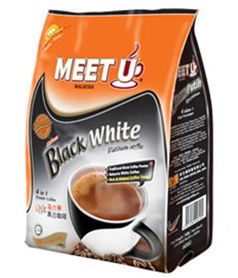meet u 4 in 1 black white coffee white coffee market malaysia