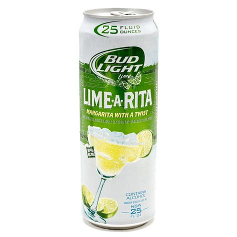 bud light strawberry lime a rita alcohol content