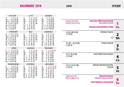kalendarz    calendar printable