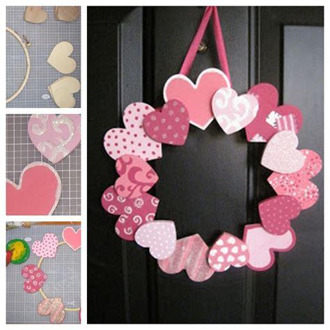diy valentines wreath wonderful diy 20 s day wreaths