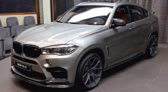 2017 bmw x6 m sport in light gray brown interior