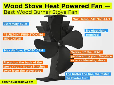how to build a stove fan top 5 non electric best wood stove fans 2018 improve the
