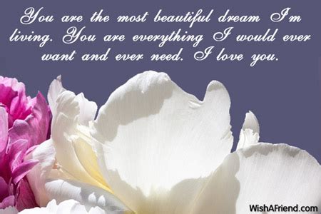 beautiful message for you are the most beautiful message for