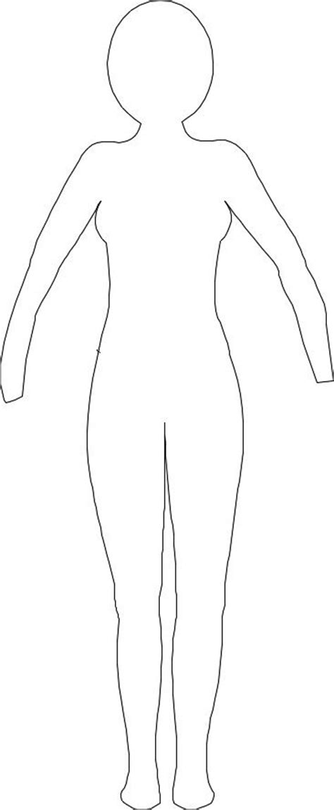 Dress A Doll Template by Paper Doll Outline Paper Dolls Dresses For