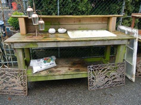 corner potting bench 25 best ideas about potting benches on pinterest potting station rustic potting